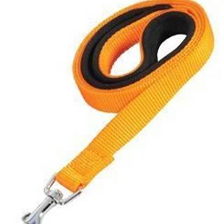 Vodítko pes SOFT NYLON oranžovej 25mm / 1m Zolux