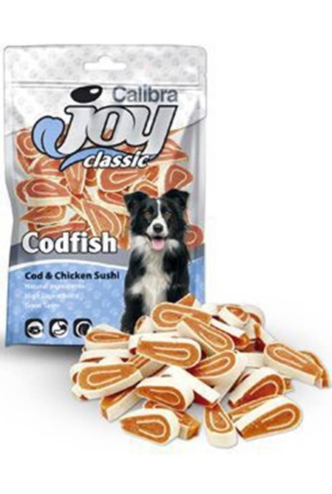 Calibra Calibra Joy Dog Classic Cod & Chicken Sushi 80g NEW