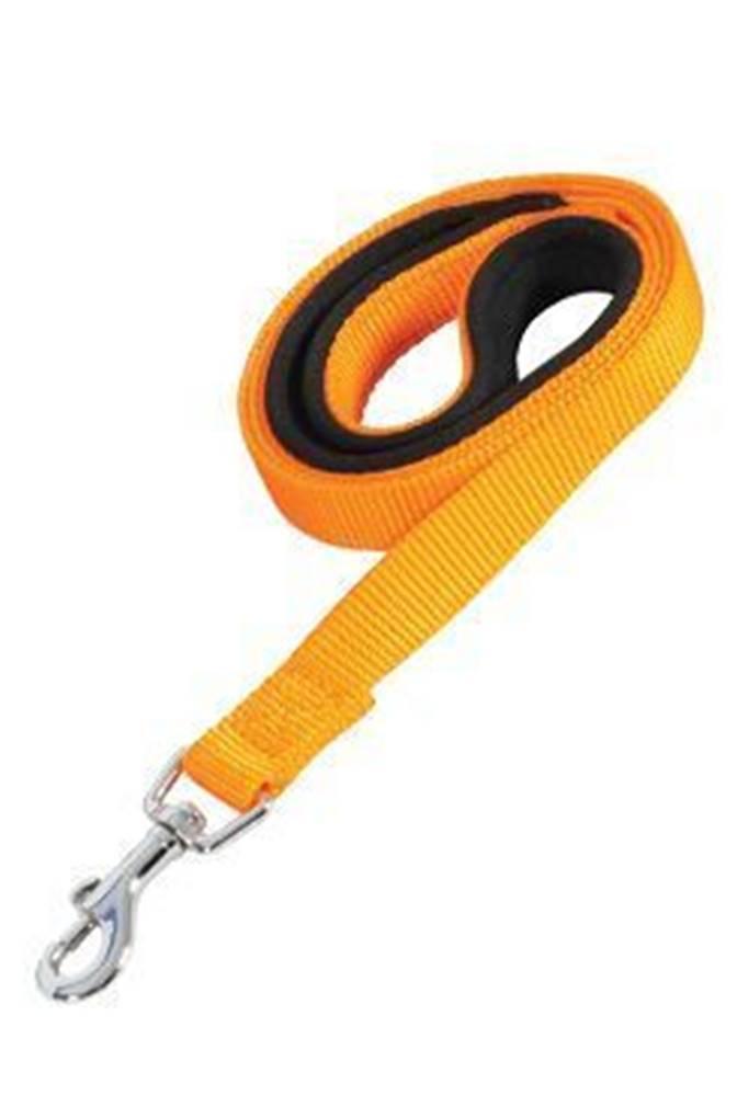 Zolux Vodítko pes SOFT NYLON oranžovej 25mm / 1m Zolux