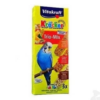 Vitakraft Bird Kräcker Andulka med / pom / popcorn tyč 3ks