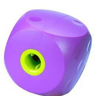 Hračka pes BUSTER Food Cube fialová 14cm, L