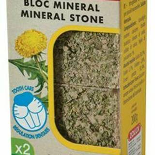 Minerálne kameň EDEN hlodavcami púpava 2x200g Zolux