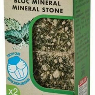 Minerálne kameň EDEN hlodavcami žihľava 2x200g Zolux