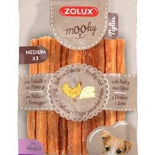 Pochúťka Mook Premium hydinu / syr M 3ks Zolux