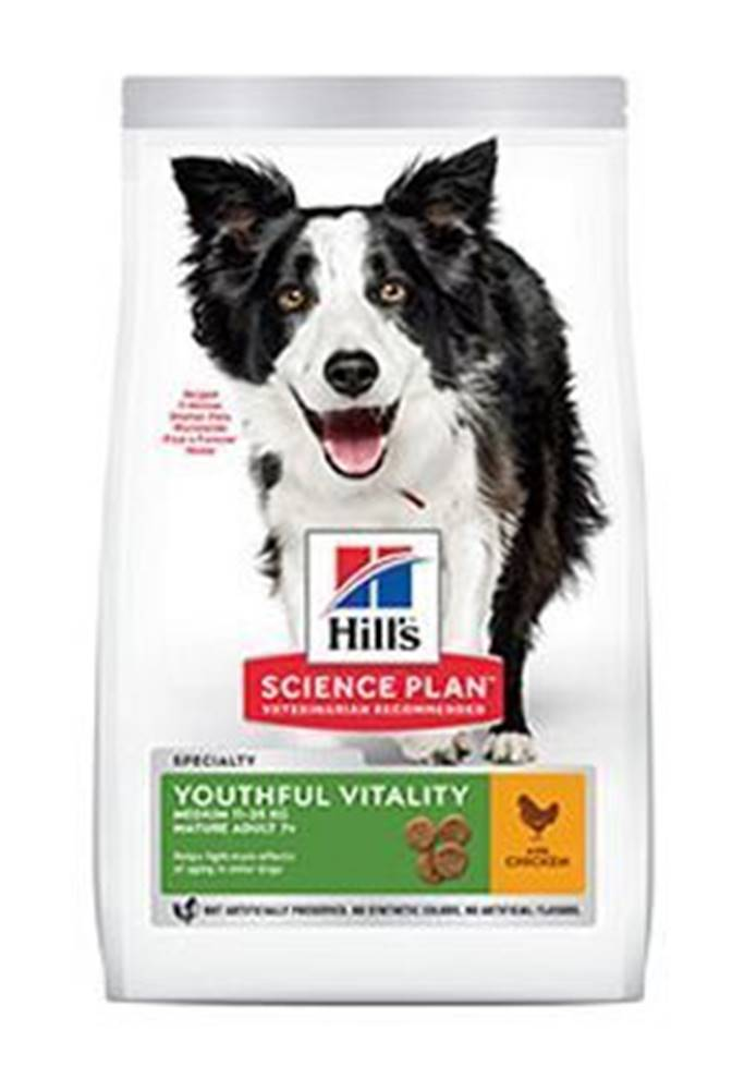 Hill's Hill's Can.Dry SP Mature Adult7+YoutVital M Chick2,5kg
