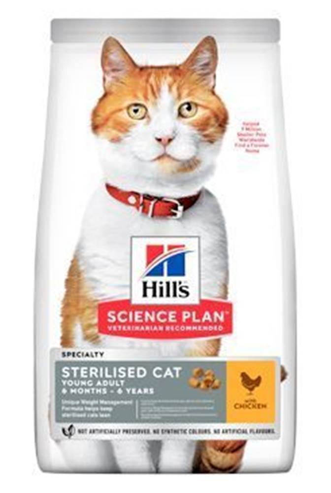 Hill's Hill's Fel. Dry Adult Young Sterilised CatChicken1,5kg