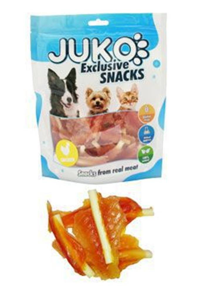 Juko Juko excl. Smarty Snack SOFT MINI Chicken Jerky 250g