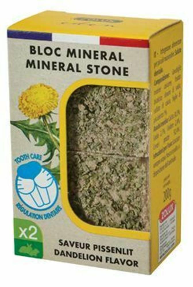 Zolux Minerálne kameň EDEN hlodavcami púpava 2x200g Zolux