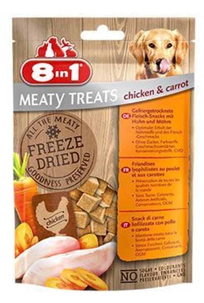 8in1 Pochúťka 8in1 FD Chicken / Carrots 50g