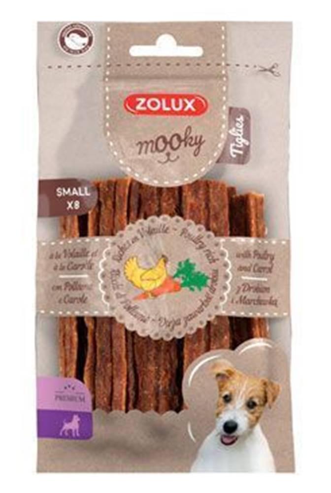 Zolux Pochúťka Mook Premium hydina / mrkva S 8ks Zolux