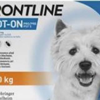 FRONTLINE SPOT ON pre psov S (2-10kg) - 3x0,67ml