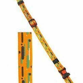 Obojok nylon ART Sportiv 40-55 / 20mm Žltý / Prúžok KAR