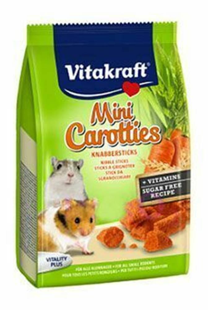 Vitakraft Vitakraft all Rodent poch. Carotties mini Hamster 50g