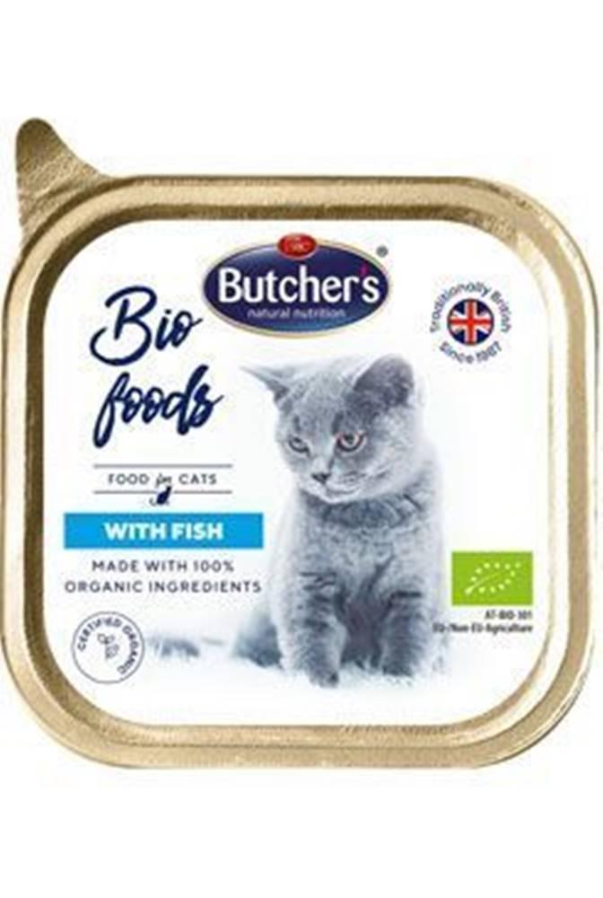 Butcher's Butcher 's Cat Bio s rybou vanička 85g
