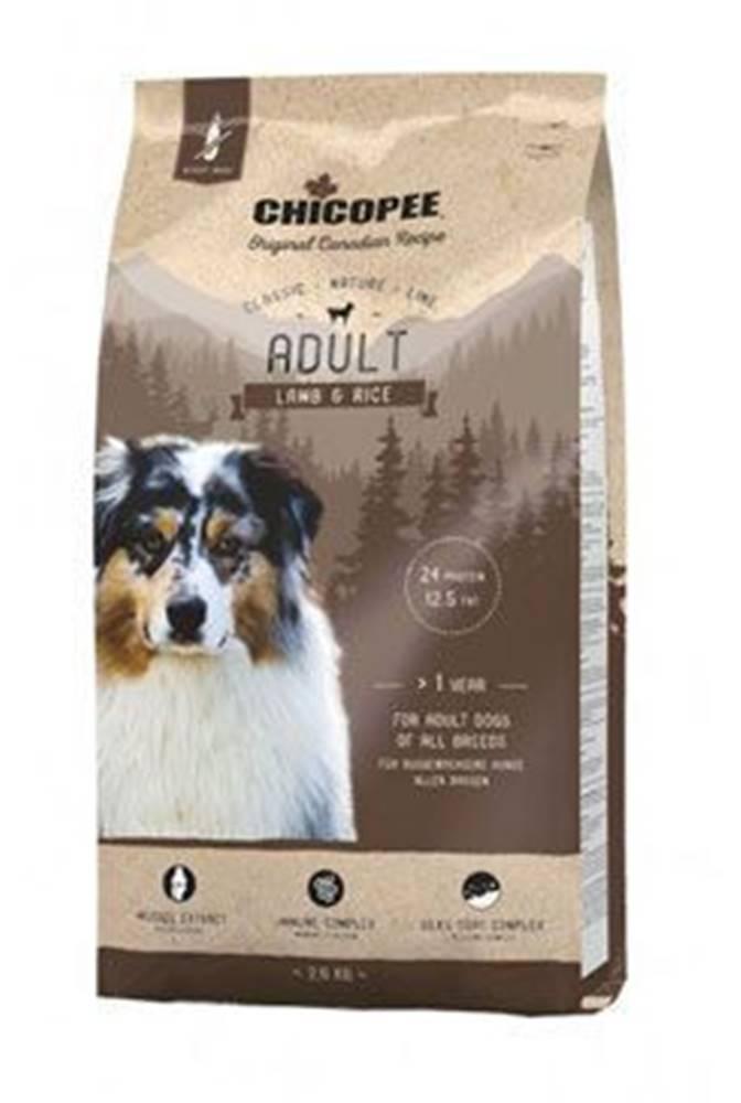 CHICOPEE Chicopee Classic Nature Adult Lamb-Rice 2kg