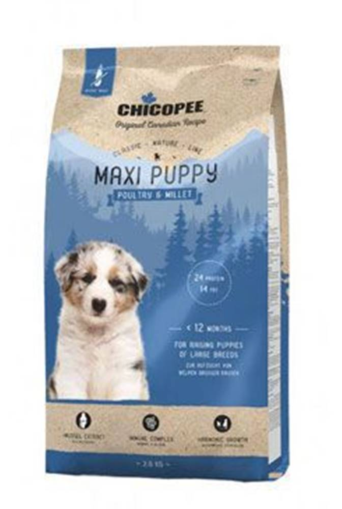CHICOPEE Chicopee Classic Nature Maxi Puppy Poultry-Millet 2kg