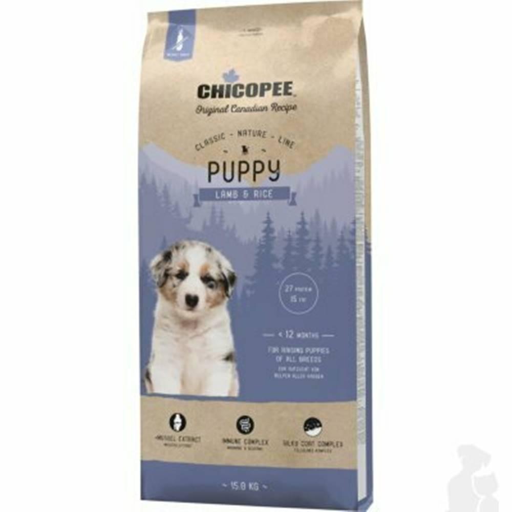 CHICOPEE Chicopee Classic Nature Puppy Lamb-Rice 15kg