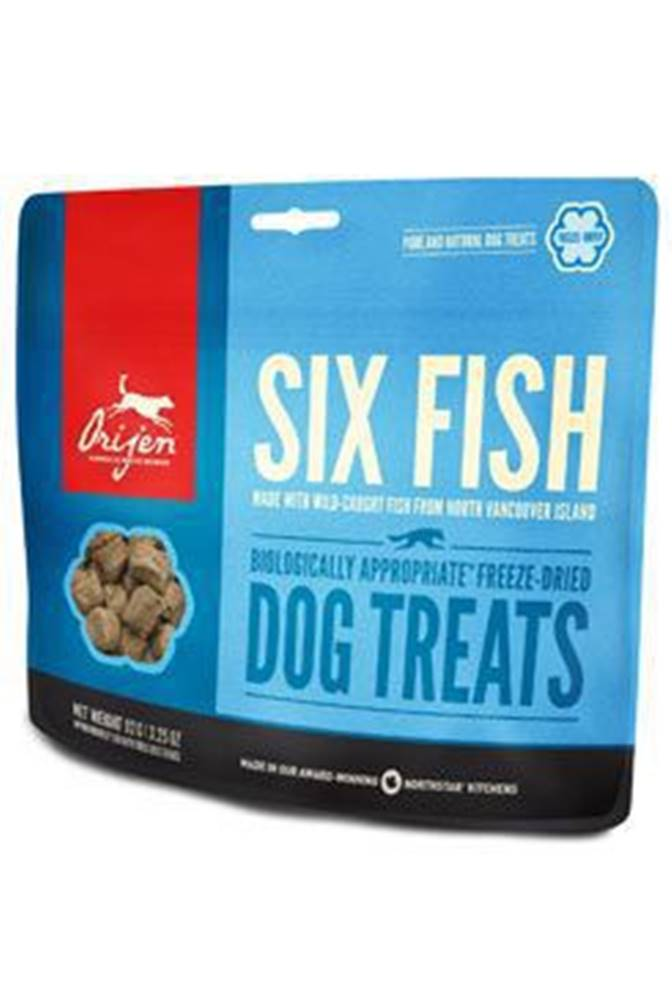 Orijen Orijen Dog  pochoutka F-D Six Fish Treats 92g