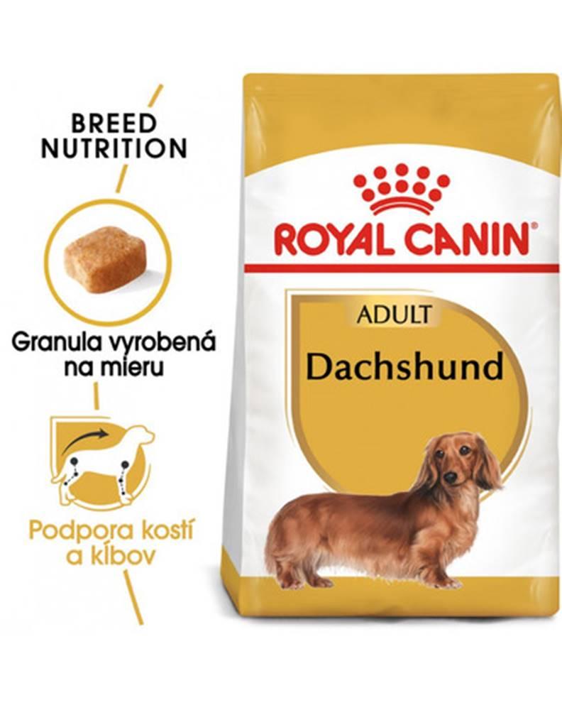fera ROYAL CANIN Dachshund Adult 1,5 kg granule pre dospelého jazvečíka