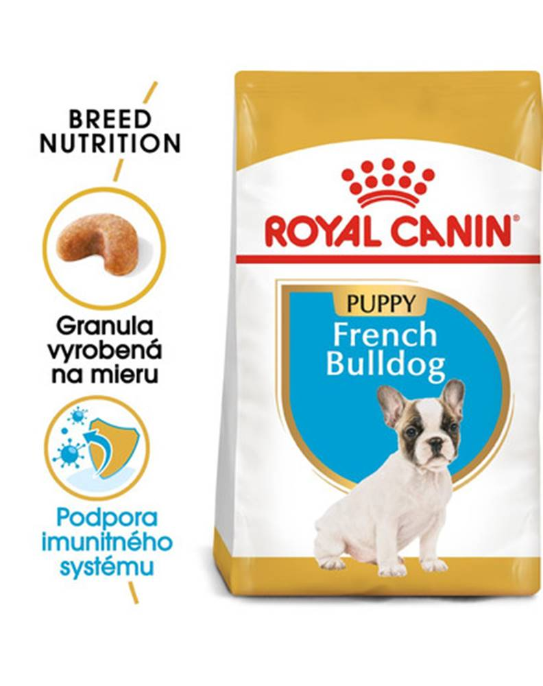 fera ROYAL CANIN French Bulldog Puppy 2 x 12 kg granule pre šteňa francúzskeho buldočka
