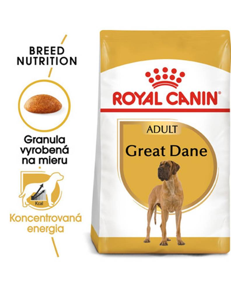fera ROYAL CANIN Great Dane Adult 12 kg granule pre nemeckú dogu