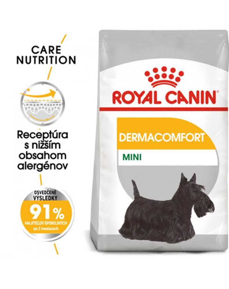 fera ROYAL CANIN Mini dermacomfort 8 kg granule pre malých psov s problémami s kožou