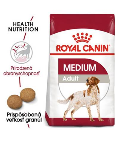 ROYAL CANIN Medium Adult 2 x 15 kg granule pre dospelých psov strednej rasy
