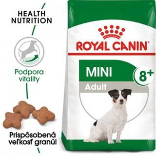 ROYAL CANIN Mini Adult 8+ 2 x 8 kg) granuly pre dospelé starnúce psy