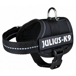 TRIXIE Postroj JULIUS-K9® Power - čierny, M 51–67 cm