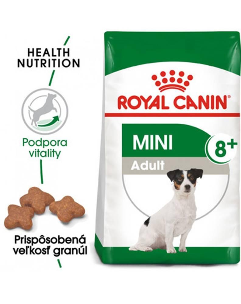 fera ROYAL CANIN Mini Adult 8+ 8kg granuly pre dospelé starnúce psy