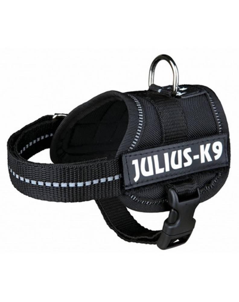 fera TRIXIE Postroj JULIUS-K9® Power - čierny, M 51–67 cm