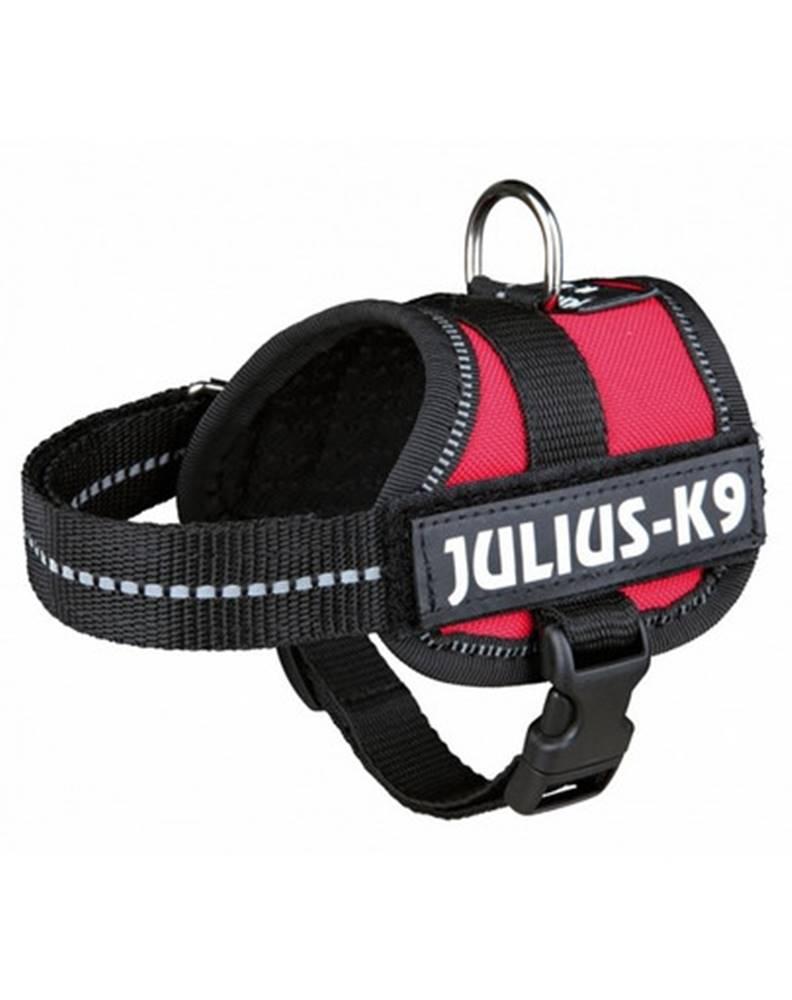 fera TRIXIE Postroj pre psov Julius-K9 harness M - L 58-76 cm červený