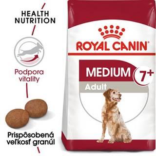 ROYAL CANIN Medium Adult 7+ granule 15kg pre dospelé starnúce stredné psy