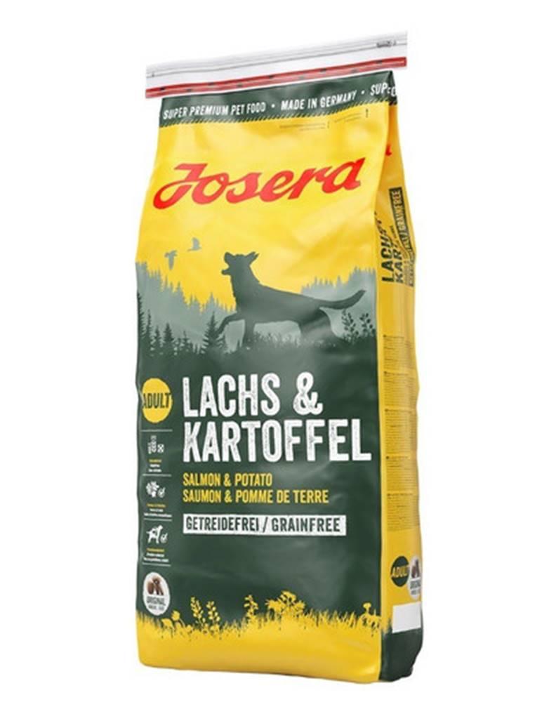 fera JOSERA Lachs & Kartoffel Adult losos a zemiaky 2 x 15 kg + Dr PetCare MAX Biocide Collar Obojok proti hmyzu pre stredných psov 60 cm