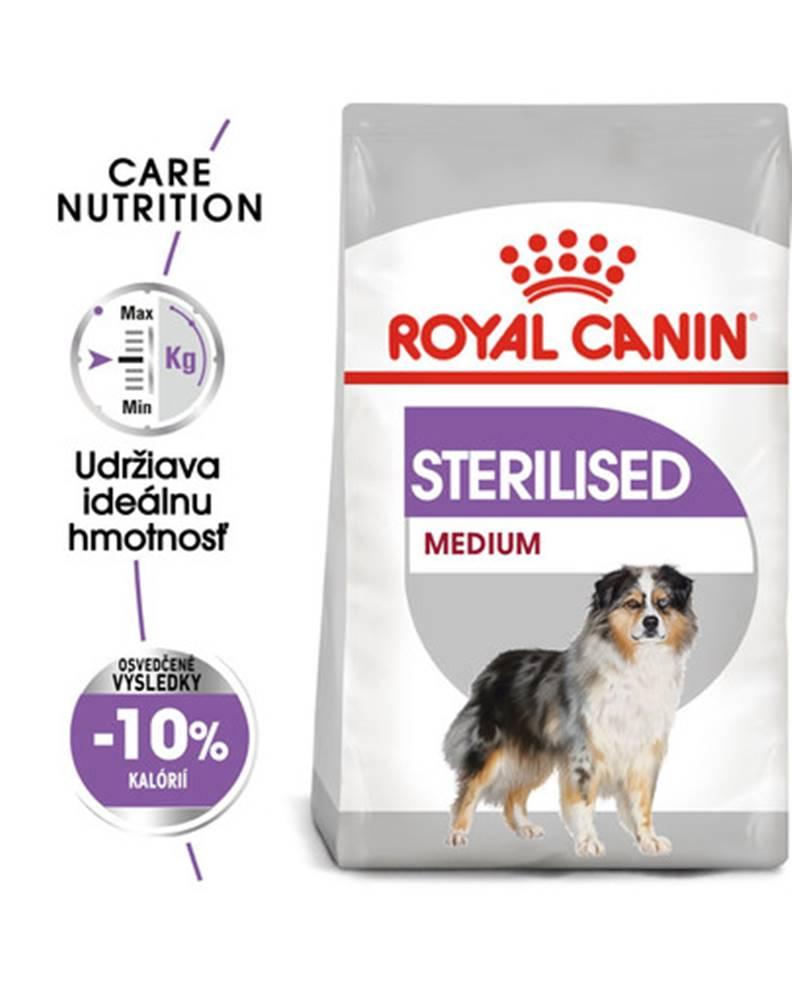 fera ROYAL CANIN Medium Sterilised 3 kg granule pre kastrované stredné psy