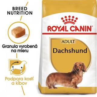 ROYAL CANIN Dachshund 2 x 7.5 kg granule pre dospelého jazvečíka