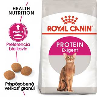 ROYAL CANIN Protein Exigent 4 kg granule pre maškrtné mačky