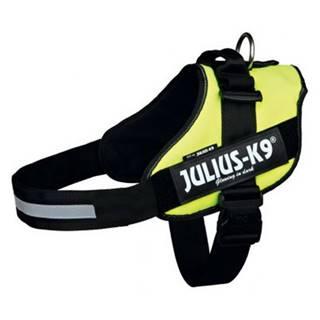 TRIXIE Postroj pre psov Julius-K9 IDC, Mini / M: 49-67 cm, neónovo žltý