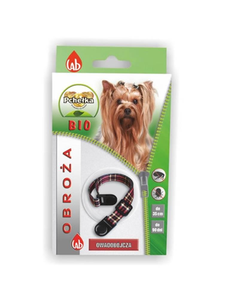 fera PCHEŁKA Bio obroża pies 35 cm + smycz na klucze krótka GRATIS