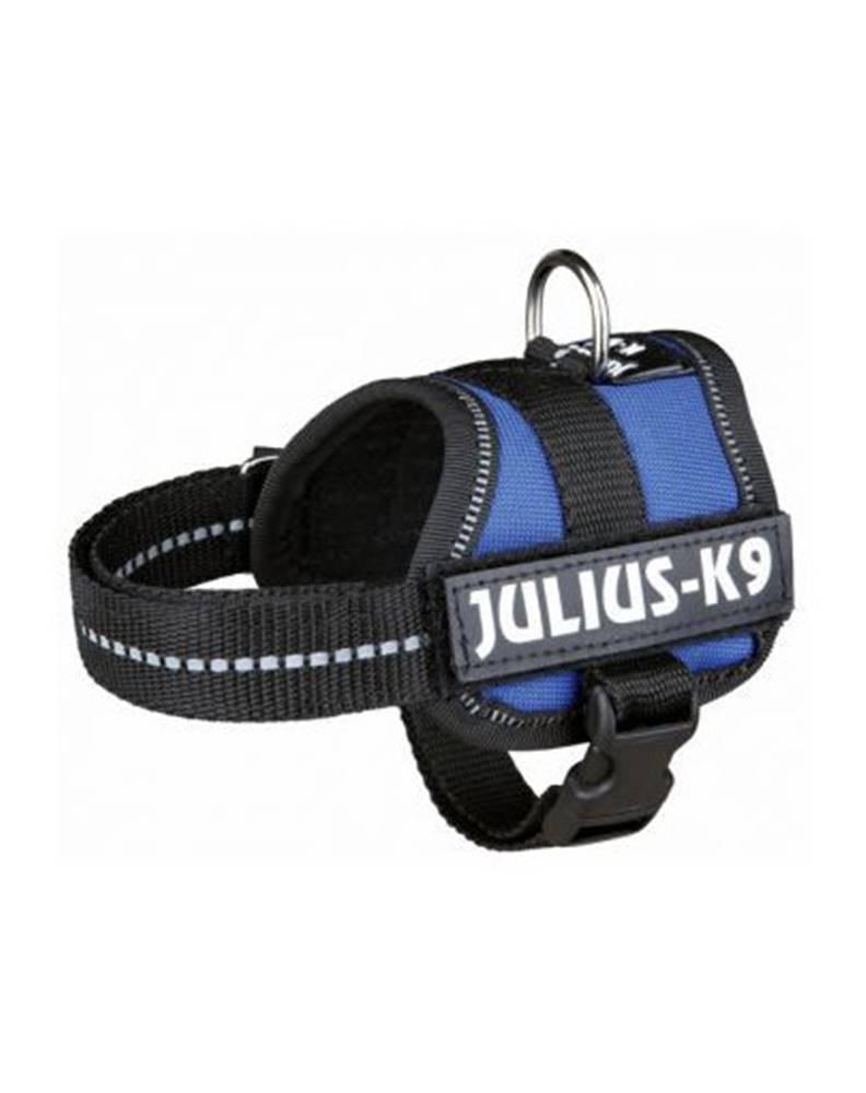 fera TRIXIE Postroj pre psov Julius-K9, Rozm.1 / L: 66-85 cm, modrý