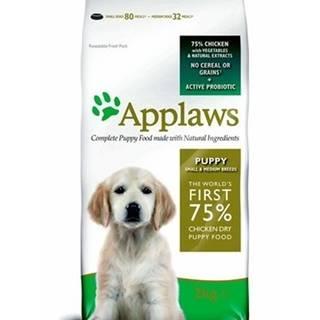 APPLAWS Dog Chicken Puppy small & medium breed puppy 7,5 kg - granule pro štěňata