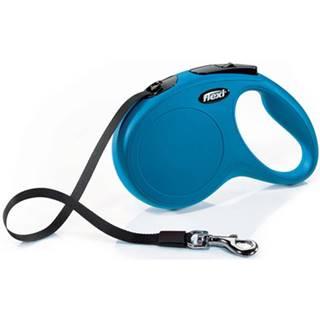 FLEXI Vodítko NEW CLASSIC L 5m modrá páska