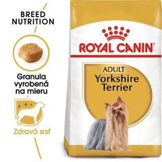 ROYAL CANIN Yorkshire Terrier Adult 2 x 7.5 kg granule pre dospelého jorkšírskeho teriéra