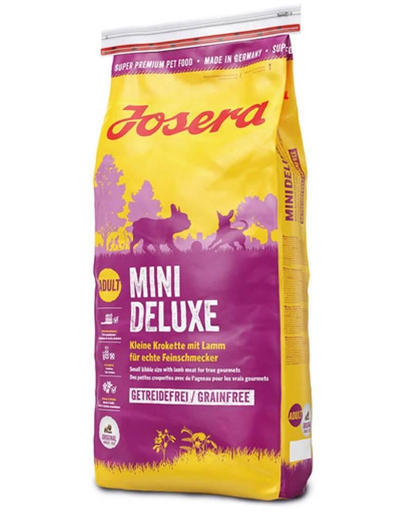 fera JOSERA Mini Deluxe 2 x 15 kg granule pre dospelých psov malých rás