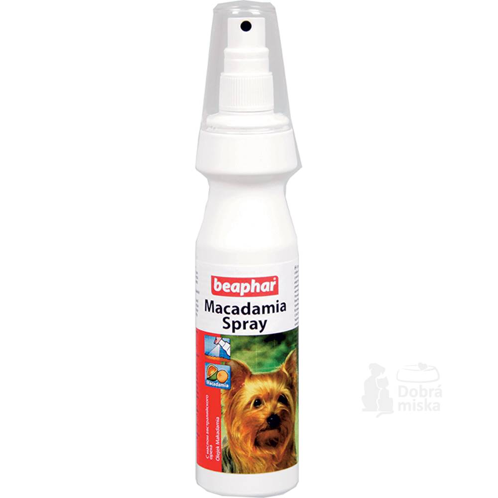Beaphar Beaphar Bea makadamový olej spray pes 150ml