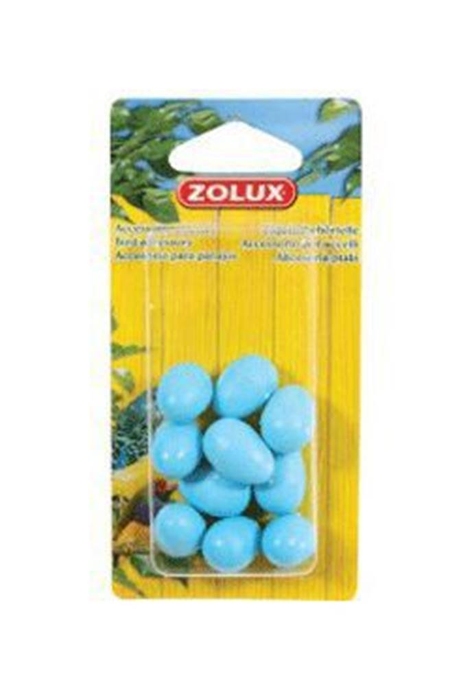 Zolux Falešná vejce kanárek 10ks modrá Zolux