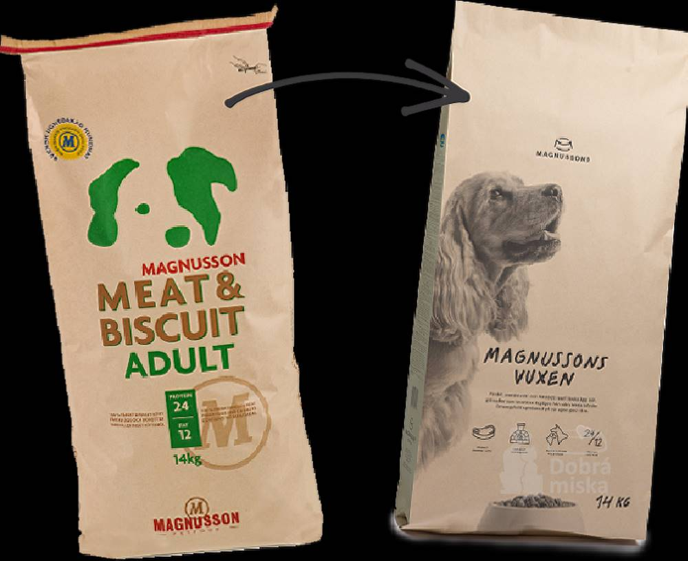Magnusson Magnusson Meat&Biscuit Adult  2kg