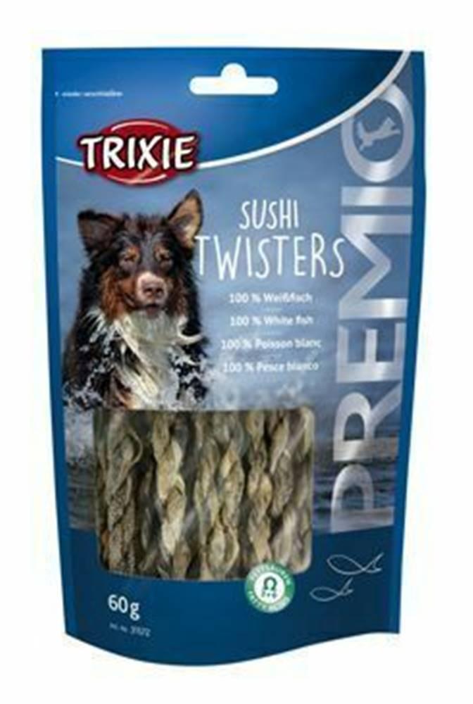 Trixie Trixie Premio SUSHI TWISTERS rybí copánky 60g TR