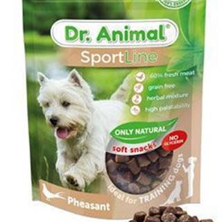 Pochoutka Dr. Animal Sportline bažant 100g