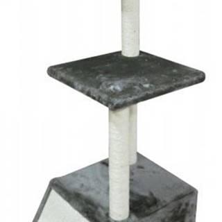 Škrábadlo Viola čokoládově hnědé 30x30x94 cm
